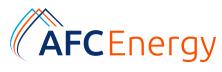 AFC Energy PLC [LON: AFC]