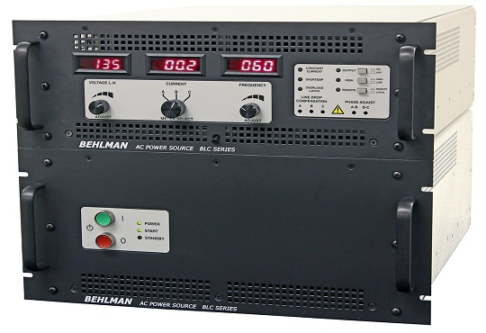 Behlman Launches New BLC Series Ac Power Supply Equipment