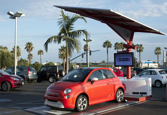 Envision Solar Delivers EV ARC To Healthcare Product Company
