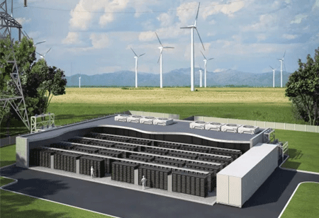 Descending Prices in Energy Storage Leaving no Footprint