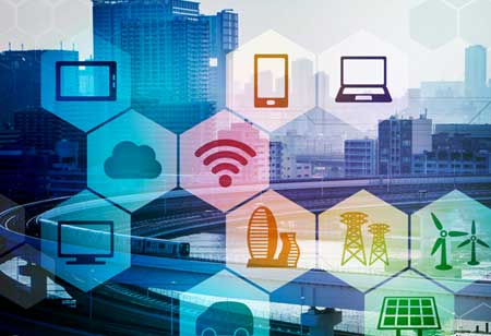 Recent Developments of Internet of Energy (IoE) and Smart Grid Technology in Energy Industries