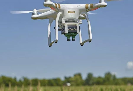 Sensors will turn it to Live Drones