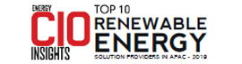 Top 10 Renewable Energy Solution Providers – 2019