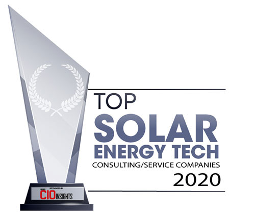 Top 10 Solar Energy Tech Consulting/Service Companies – 2020