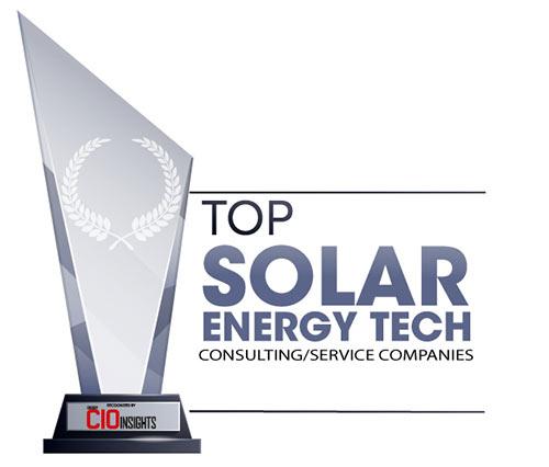 Top 10 Solar Energy Tech Consulting/Service Companies – 2020