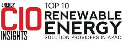 Top 10 Renewable Energy Solution Companies in APAC – 2019